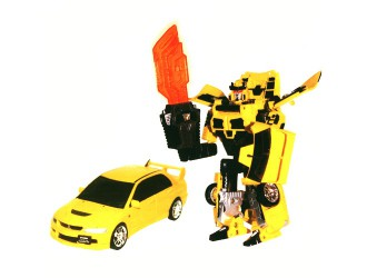 52080 r Robot Transformer - MITSUBISHI LANCER EVOLUTION IX (1:32)