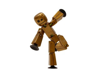 TST619 Фигурка для анимационного творчества STIKBOT METAL