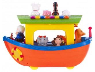 049734 Set de joaca Arca lui Noe cu roti (sunete, lumini, l.rusa)