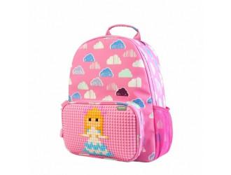 WY-A025B Рюкзак розовый  Floating Puff Upixel