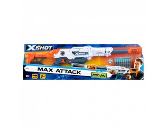 3694 X- Shot Бластер Large Max Attack (24 патрона)