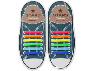 Разноцветные АнтиШнурки 6+6