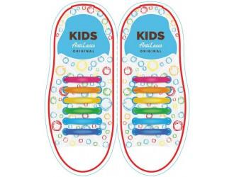 Kids Sireturi din silicon 38 mm CURCUBEU 6+6 buc