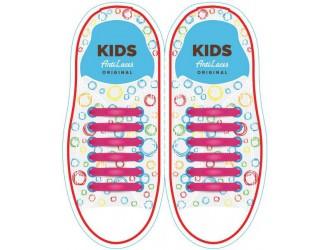 Kids Sireturi din silicon 38 mm ROZI 6+6 buc