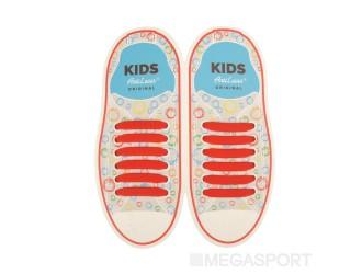 Kids Sireturi din silicon 38 mm ROSII 6+6 buc