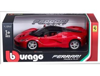18-26001 Masina model FERRARI (rosu, alb, 1:24)