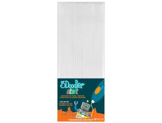 3DS-ECO01-WHITE-24 Set de tije pentru 3D-PIX 3Doodler Start (alb, 24 buc)