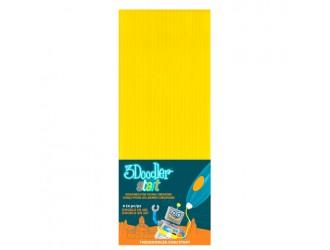 3DS-ECO04-YELLOW-24 Set de tije pentru 3D-PIX 3Doodler Start (galben, 24 buc)
