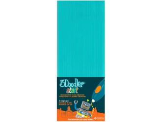 3DS-ECO05-BLUE-24 Set de tije pentru 3D-PIX 3Doodler Start (albastru, 24 buc)