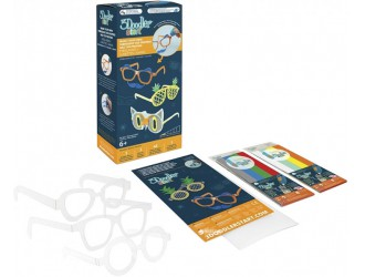 8SMKEYEG3R Set de accesorii pentru pix-3D 3Doodler Start - OCHELARI LA MODA (48 tije, 3 sabloane + 1sablon)