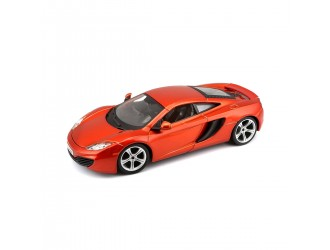 18-21074  Masina model MCLAREN MP4-12C (metal portocaliu, galben metalic, 1:24)