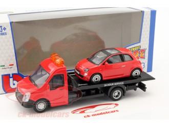 18-31402 Set de joaca TRUCKER cu modelul FIAT