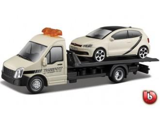 18-31403 Set de joaca TRUCKER cu modelul VW POLO GTI MARK 5