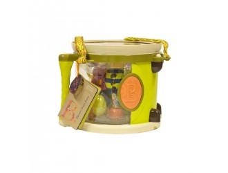 BX1007Z Музыкальная игрушка - Парам-пам-пам (7 инструментов, в барабане)