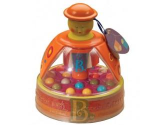 BX1119Z  Обучающая игрушка Юла Мандаринка