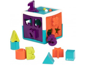 BT2577Z Jucarie educationala sorter - SMART CUB (12 forme)