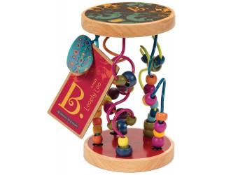 BX1155 Развивающая деревянная игрушка - РАЗНОЦВЕТНЫЙ ЛАБИРИНТ