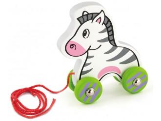50093 Pull Along Zebra