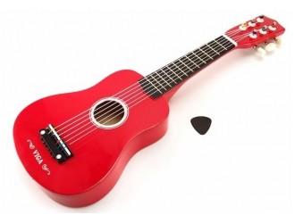 """50691 Guitar 21"""" - Red"""