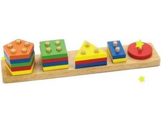 58558 Игровой набор Viga Geometric Blok