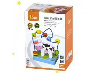 59661 Mini Wire Beads - Cow