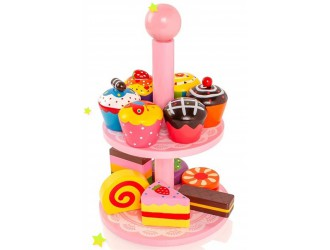 59893 Cupcake with stand