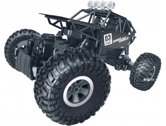 SL-112MBl Masina cu RC FORCE OFF-ROAD CRAWLER – MAX SPEED (negru mat, carcasa din metal, 1:18)