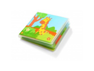 "0887 Jucarie ""Carte pentru baie"" Wild Animals BabyOno"