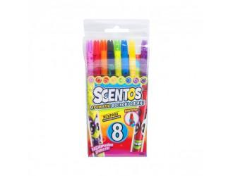 41102 Set creioane ceara aromate p/t desenat(8 culori)