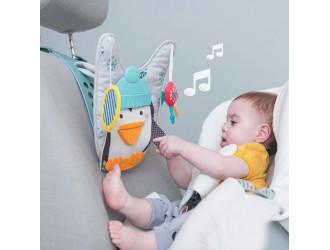 12285 Jucarie pentru automobil-Pinguinul muzical (sunet,lumini)