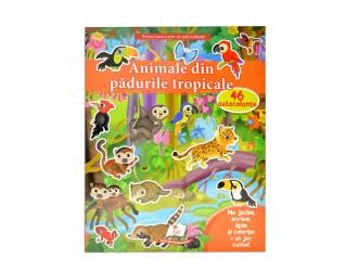 73908 Autocolante. Animale din padurile tropicale (Nicula)