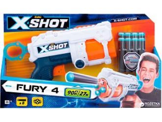 36185Z Скорострельный бластер Zuru X-Shot Excel Fury