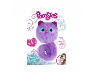 01951-Sp Jucarie pisica interactiva POMSIES-FLAFFI(sunet si lumini)