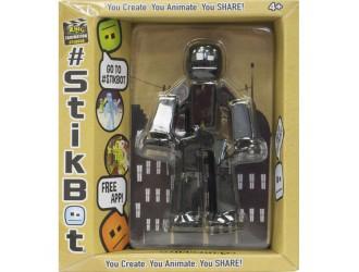 TST616IIBI  STIKBOT-Figurina pentru dezvoltarea imaginatiei  STIKBOT S2 (NEGRU)