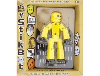 TST616IIY STIKBOT-Figurina pentru dezvoltarea imaginatiei-STIKBOT S2(galben)