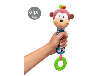 0619 Jucarii teether MONKEY GEORGE