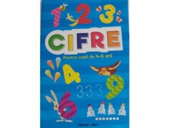 Cifre Cartea P-u copii 4-6 ani