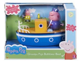 05060 Set de joaca Peppa-Aventuri pe Mare(corabie,2figuine)