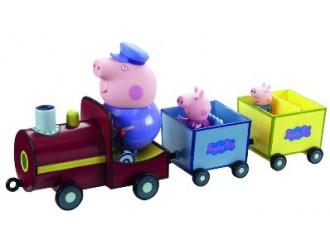 20829 Set de joaca Peppa-Trenult Bunicului Peppei(trenut,3 figuri)