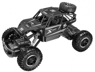 SL-110AB Automobil OFF-ROAD CRAWLER-ROCK SPORT(neagra,acum.3,6V,corp metal,1.20)