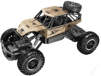 SL-110AG Автомобиль OFF-ROAD CRAWLER на р/у - ROCK SPORT (золотой)