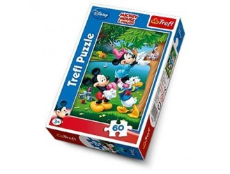 "17198 Trefl Puzzles - ""60"" - Picknic with Donald / Disney"