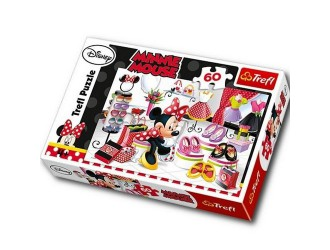 "17225 Trefl Puzzles -""60'- Crazy shopping Minnie / Disney Minnie"