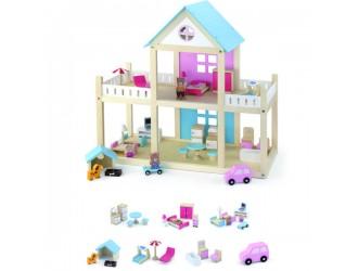 50255 Wooden Dollhouse Casa pentru papusi Viga