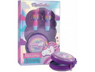 """30233 Set cosmetica MARTINELIA-'Visul unicornului"""" cu punga cosmetica"""