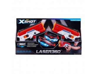 36280Z X-Shot Набор лазерных бластеров Laser 360'