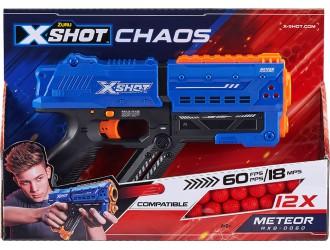 36282Z Blaster X-Shot EXCEL CHAOS 'Meteor' (12 bile)