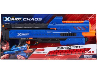 36281Z Blaster X-Shot  EXCEL CHAOS 'Orbit' (24 bile)