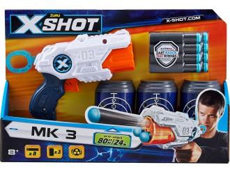36119Z Blaster X-Shot EXCEL MK 3 (3 borcane tinte, 8 cartuse)