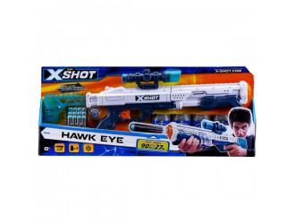 """36189Z Скорострельный бластер """"EXCEL Hawk Eye"""" (12 патронов, 5 банок)"""
